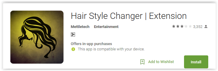 Hair Style Changer Extension