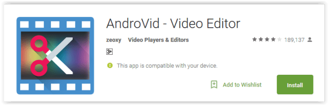 androvid-video-editor
