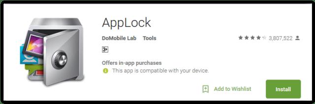 App Lock by DoMobile