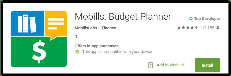 Mobills Budget Planner
