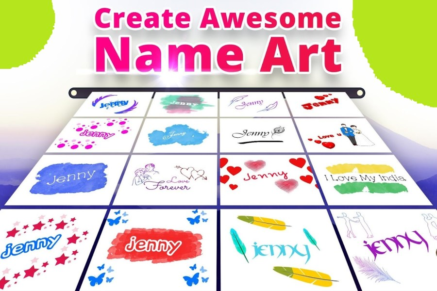 Top 10 Stylish Name Maker Apps For Android