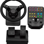 Logitech G Saitek Farm Heavy Equipment Bundle Simulation Wheel Pedals And Side Panel Control Deck Nexcel Best Computer Shop In Bahrain Best It Shop In Bahrain Best
