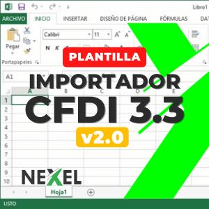 Importador CFDI 3.3 v2.0