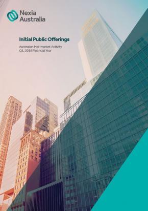 Initial Public Offerings Report Q1 2018 Fy Nexia Anz