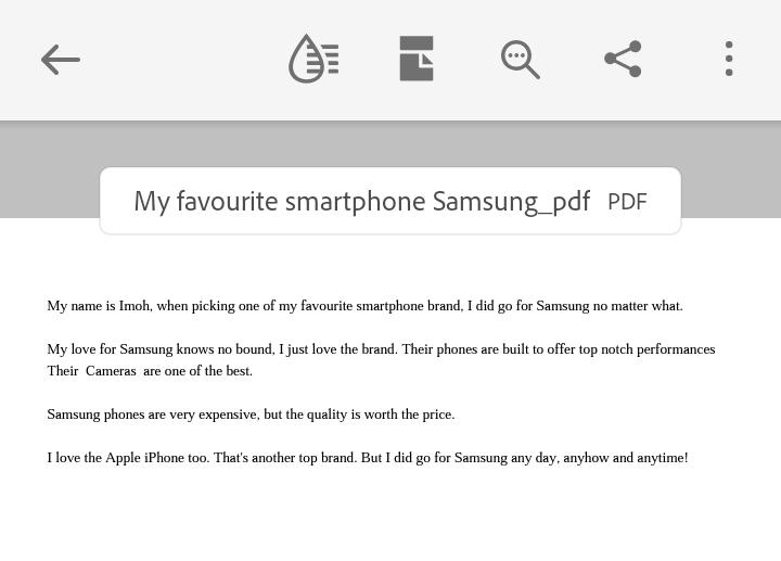 Successfully created PDF file