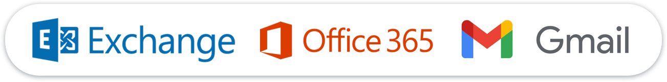 Exchange Logo Office 365 Logo Gmail Logo