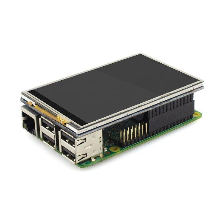 Elecrow3.5インチタッチパネル タッチスクリーンディスプレイ480X320解像度 TFTモニター LCDタッチスクリーンキット Raspberry Pi B+/2B Raspberry Pi 3B対応