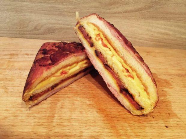 BBQ Toast Rezept Idee
