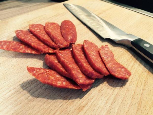 Richtig geil wurst beim Fleischer schneiden lassen
