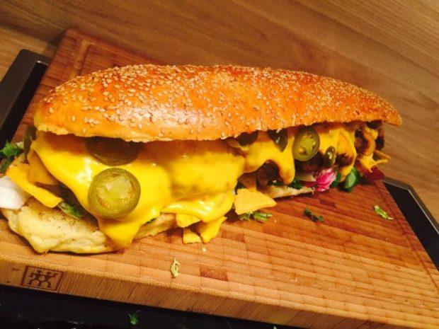 Viel spass mit dem leckeren Burger