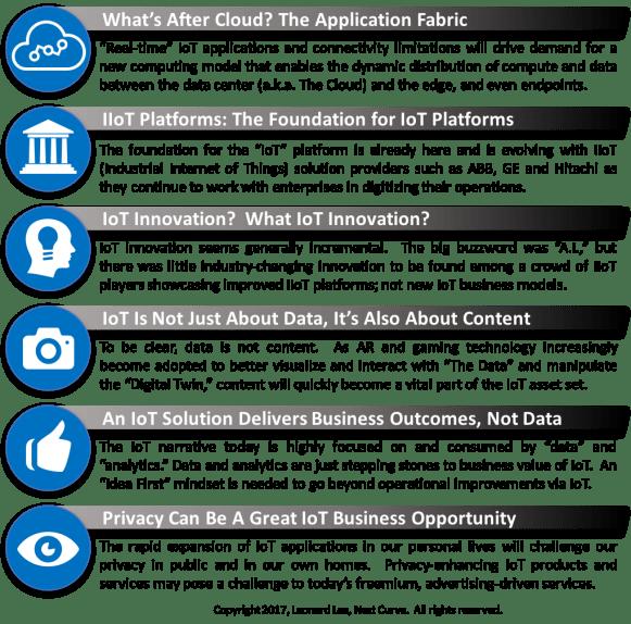 2017 IoT Congress Key Takeaways