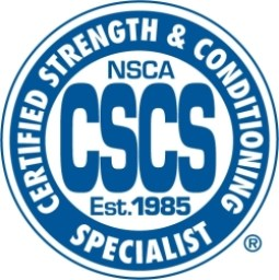 The CSCS exam is offered by the NSCA