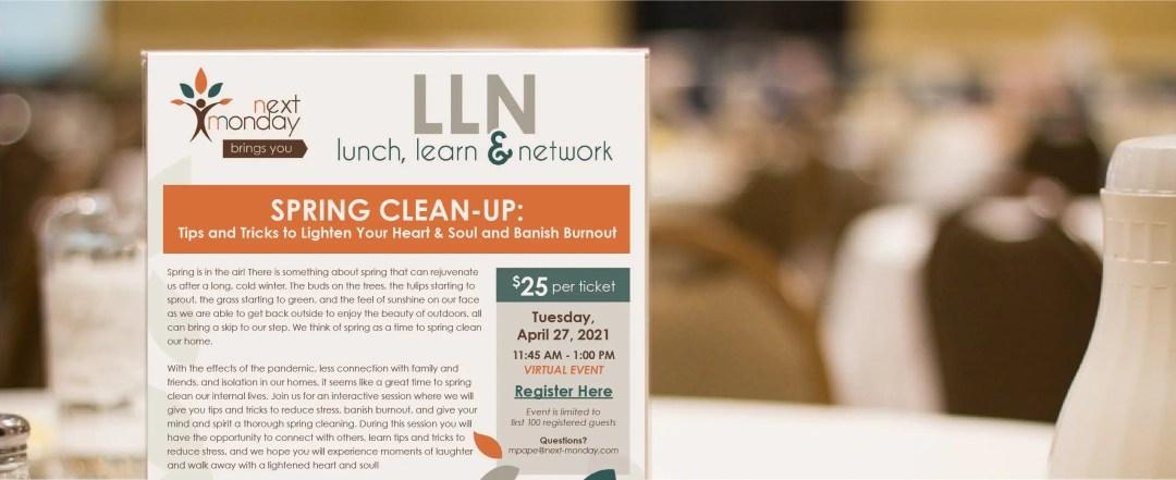 Spring clean up flyer image