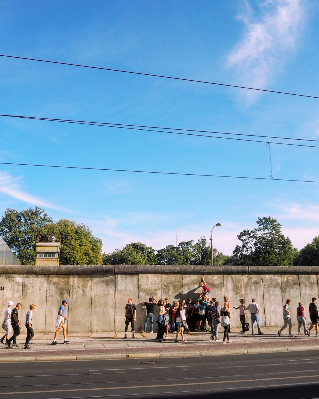 A section of the Berlin Wall- best free places to visit in Berlin