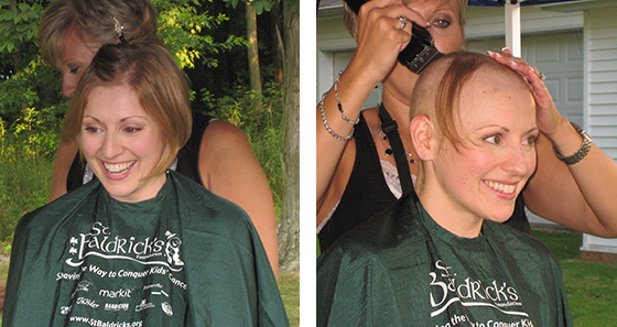 To the Growing St. Baldrick's Family, Bald is Beautiful - Next