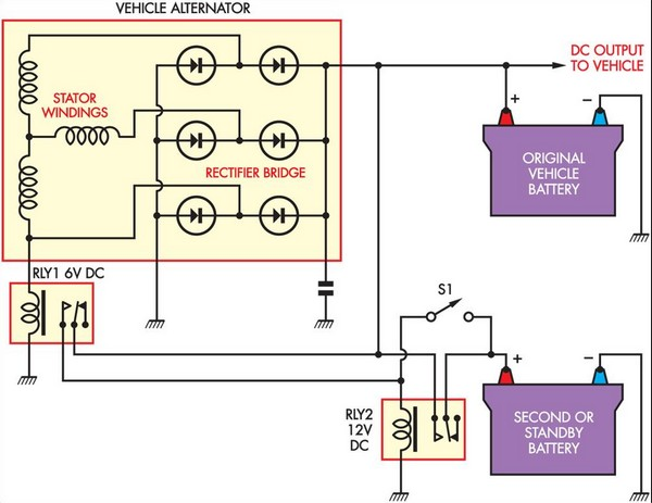 Battery Isolator Under Repository-circuits -36247- : Next.gr