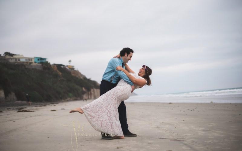 Destination Wedding on the Beaches of Encinitas, CA