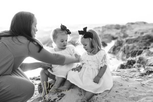 Family Session at Sunset on a Monterey, CA Beach – Destination Photographer