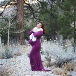 Perfect Maternity Session on Mount Charleston