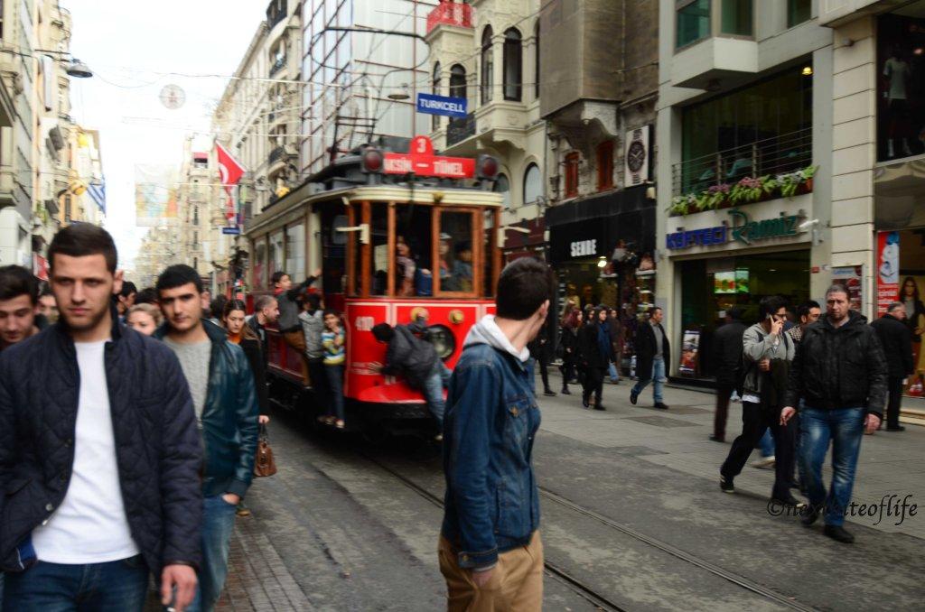tasks square tram istanbul