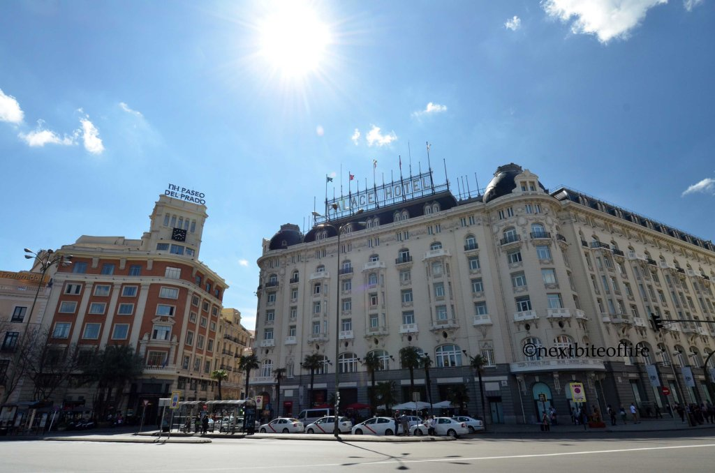 Madrid city center
