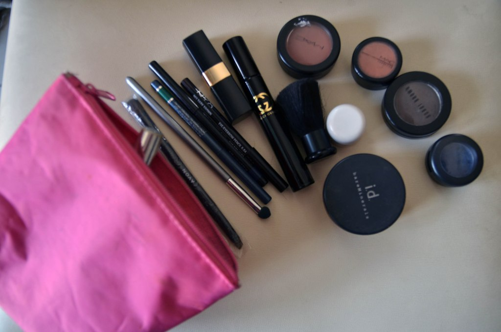 Make up bag- always ready to go.