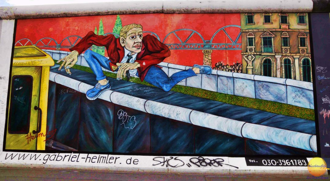 East Side Gallery, Berlin – exploring the remains of the wall