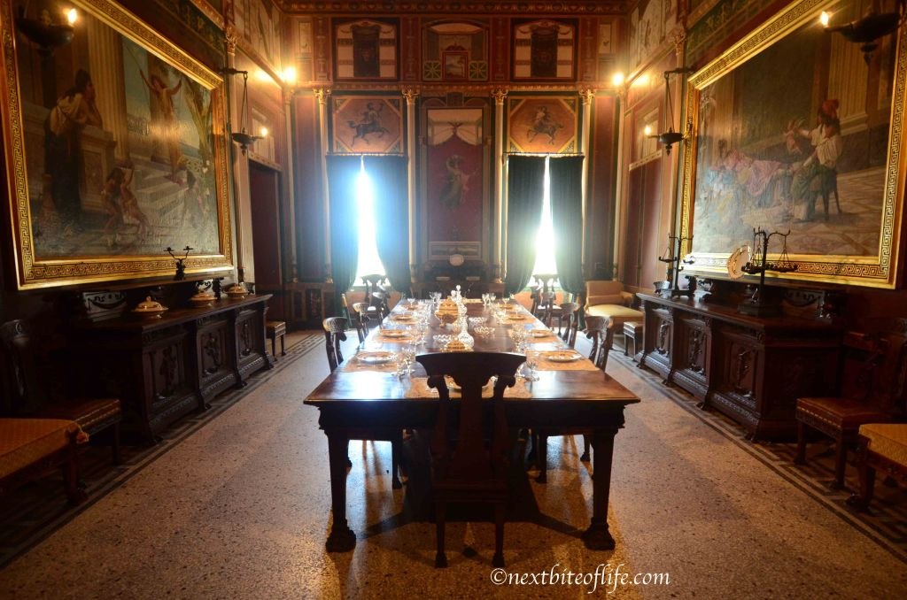 I loved this particular room!! Can you imagine a small intimate wedding reception here?