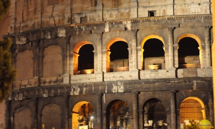 Colosseum, Rome and the tastiest pizza