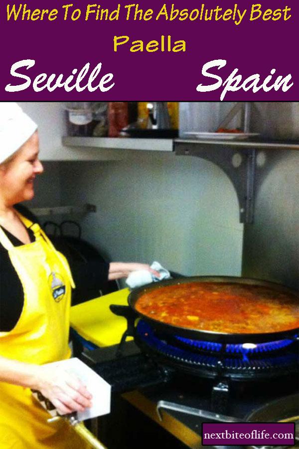 Best paella in Seville #seville #spain #paella #bestpaellaseville #andalusiapaella