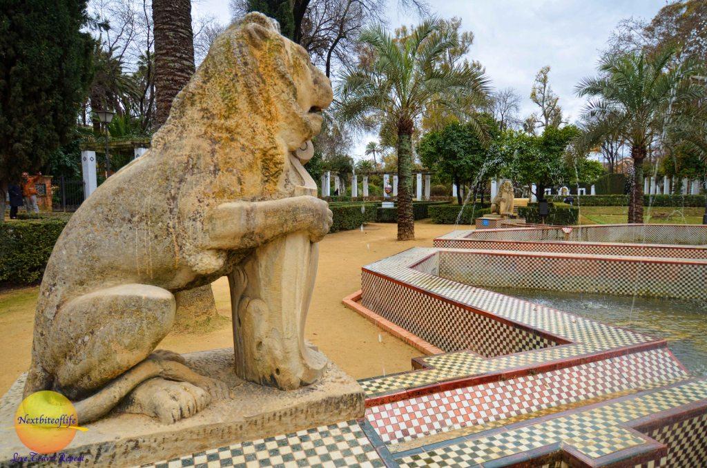Leo the Lion at maria luisa park