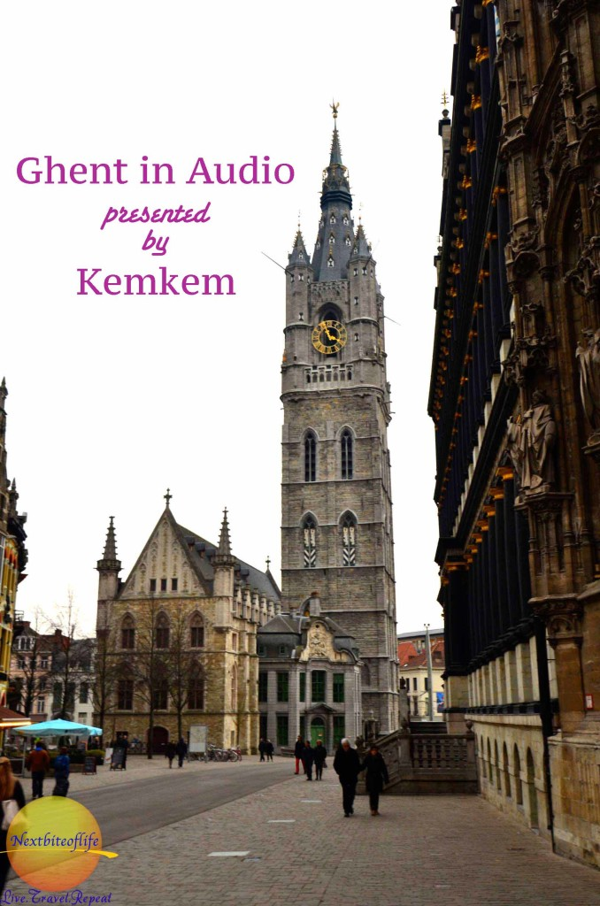 ghent (gent) in audio podcast