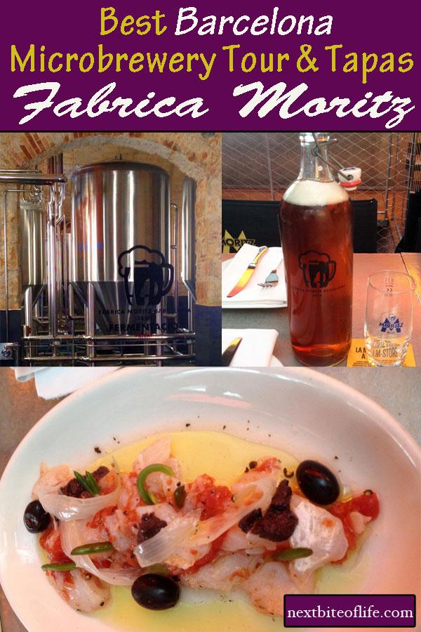 Fabrica Moritz Microbrewery & Restaurant #food #barcelona #fabricamoritz #tapasbarcelona #germanfoodbarcelona #spain #catalan