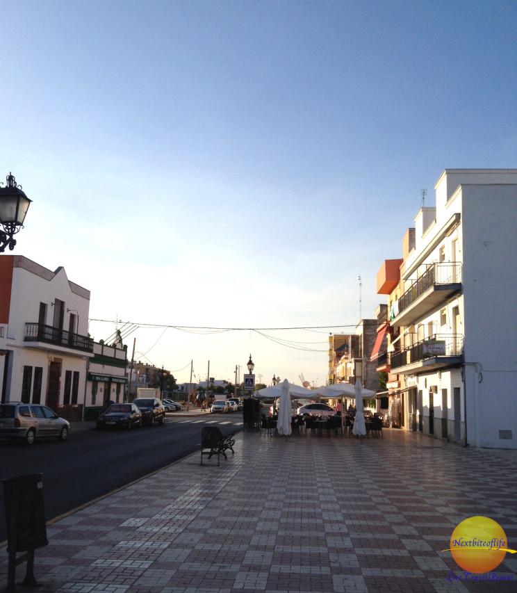 The main square..