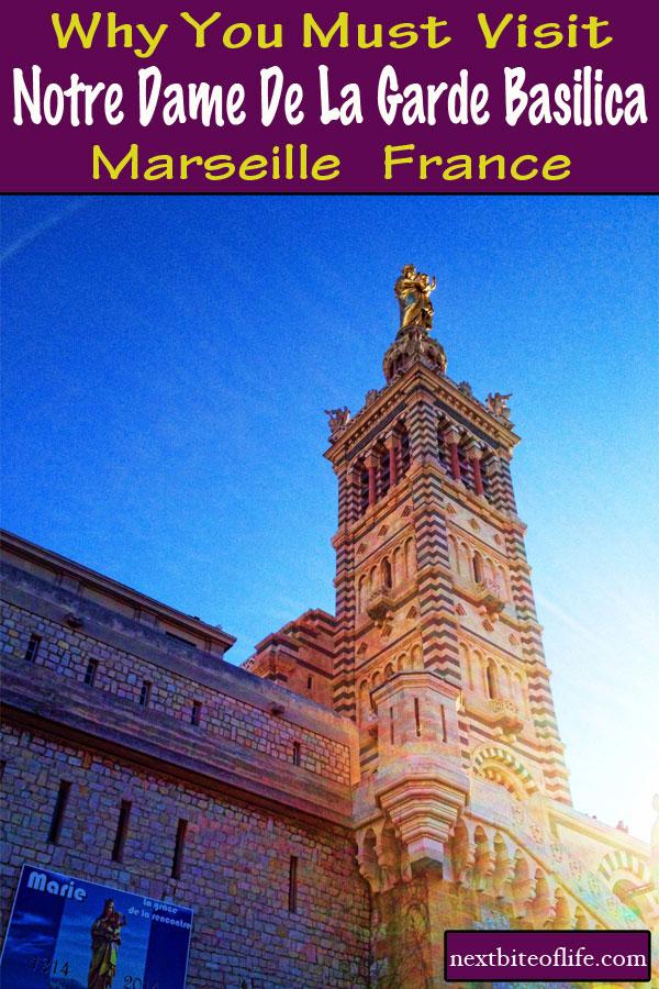 Notre Dame de la Garde #Marseille #visitmarseille #france #marseilleguide #basilica #ndfrance #mustdoinmarseille