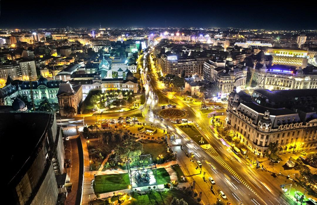 Bucharest image source.