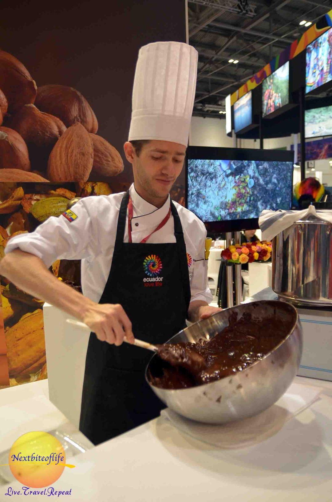 2016 Ecuador chocolate maker