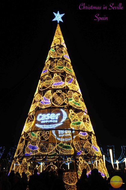 Christmas in Seville #seville #spain #christmas #christmasseville