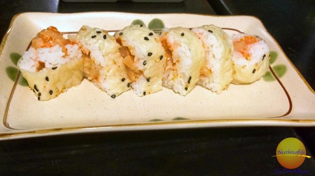 sushi tempura at sushi karen L.A