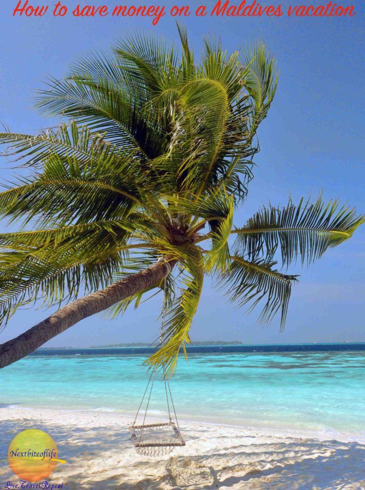 how to save money maldvies pinterest #maldives #maldivesholiday #vilamendhooresorts #savemoneymaldives islandfun