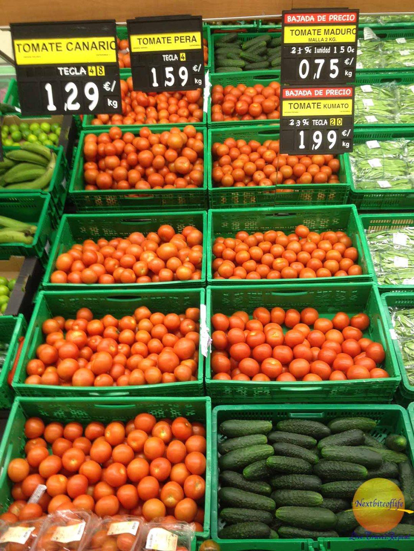 tomatoes mercadona