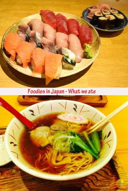Foodies in Japan #japanesefood #sushi #tokyo #kyoto #food #streetfoodjapan #visittokyo