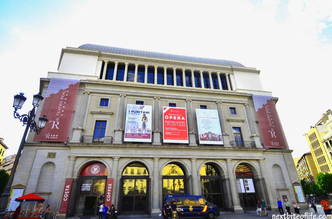 how to spend a day in Madrid - Opera house