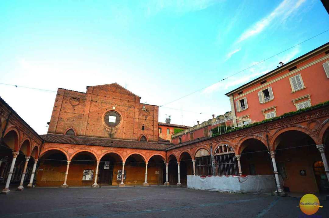 exterior santa maria basilica bologna