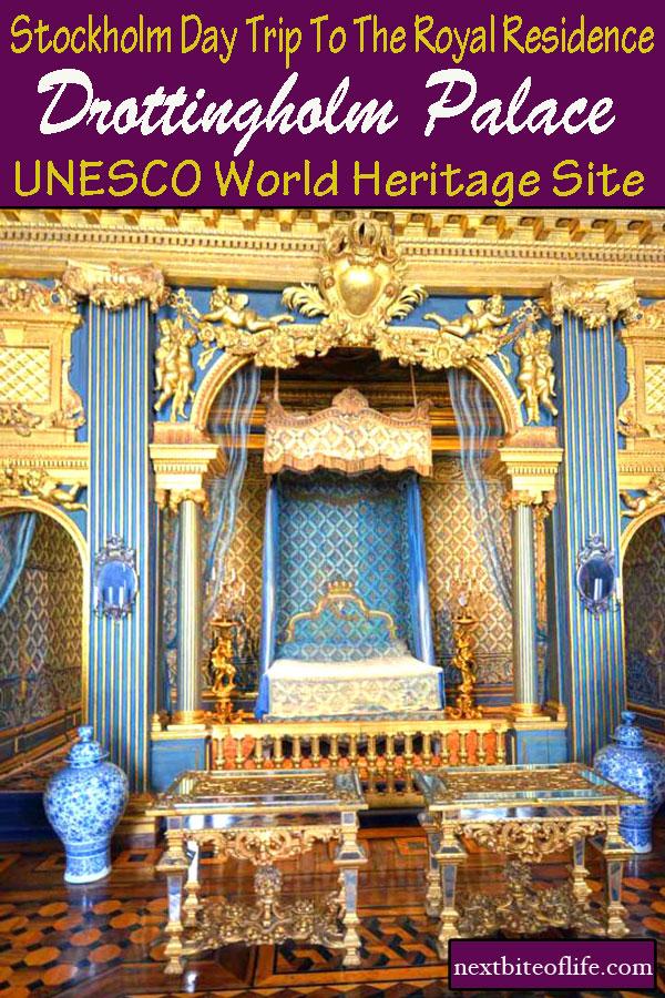 Drottingholm Place Tour Stockholm #sweden #royalty #drottingholm #UNESCO #stockholm #palace #visitstockholm