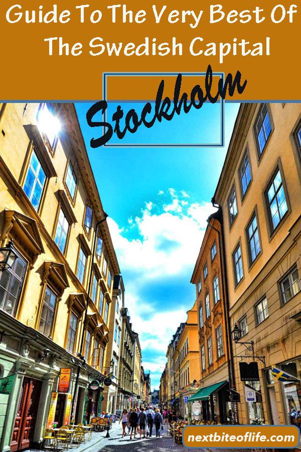 Stockholm Sweden Guide #stockholm #sweden #stockholmguide #visitstockholm #stockholmitinerary #gamlastan #vasamuseum #abbamuseum