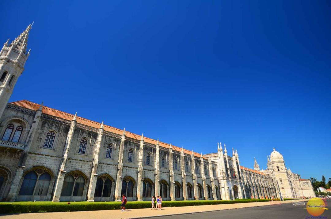jeronimos monastery in belem portugal