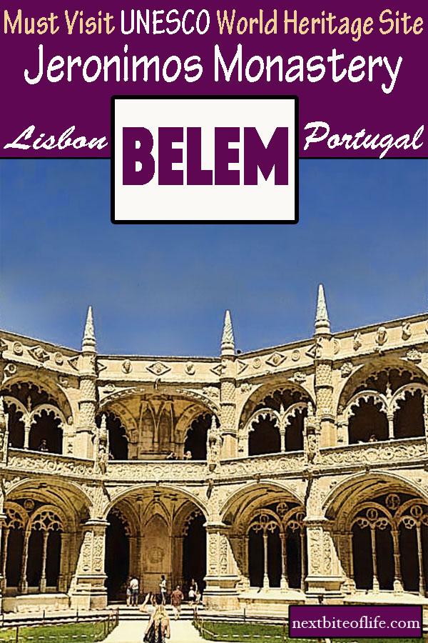 Jeronimos Monastery Belem Portugal #portugal #belem #lisbon #jeronimosmonastery