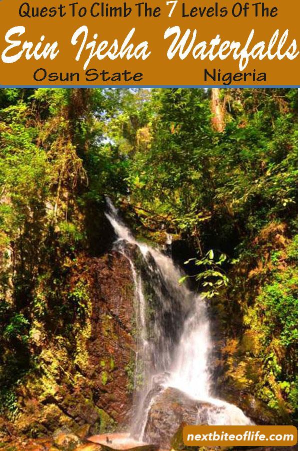 Erin Ijesha 7 Level Waterfalls #Ijesha #nigeria #africa #osunstate #erinijesha