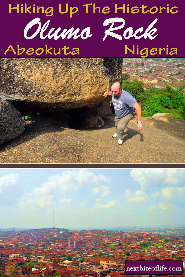 Hiking historic Olumo Rock #nigeria #westafrica #africa #abeokuta #olumorock